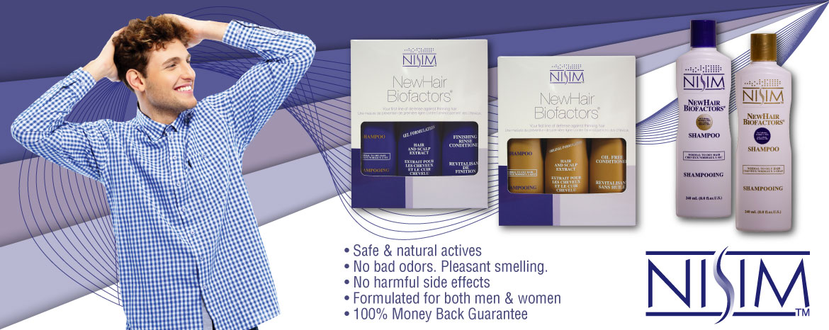 Nisim shampoos for hair loss